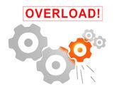 Overload concept — Stock Photo