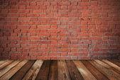 Ściana z cegły — Zdjęcie stockowe