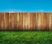 Zahradní plot — Stock fotografie