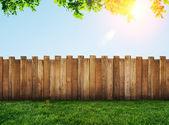 Garden fence — Stock Photo