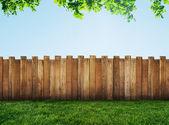 花园的栅栏 — ストック写真