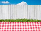 Picnic outdoors — Stock Photo