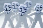 Anonymity on Internet — Stock Photo