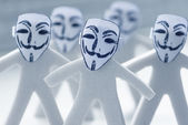 Anonymity on Internet — Stock Photo