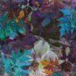 Art floral grunge background — Stock Photo #12071472