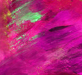 Colourful water color pouring on a paper — Fotografia Stock