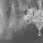 Fondo vintage arte con vela — Foto de Stock