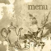 Wygląd menu restauracji — Zdjęcie stockowe