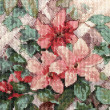 Detail flower embroidery — Stock Photo #15793667