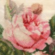 Detail flower embroidery — Stock Photo #16247587