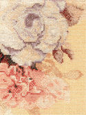 Detail rose embroidery — Stock Photo