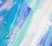 Colorful water color pouring on a paper — Stock Photo