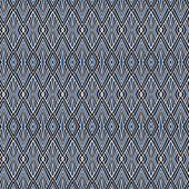 Seamless geometric pattern on paper texture. Classic background — Photo