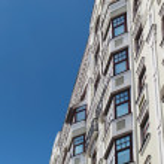Modern apartment house — Stock Photo #6330741