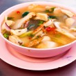 Hot and sour seafood soup — Stock Photo #14479867