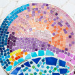 Colorful tile pattern background — Stock Photo #18288517