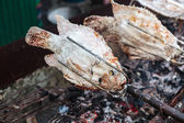 Grilled fish — Стоковое фото