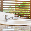 White wash basin — Stock Photo