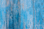 Pared de madera tablón rayas azul — Foto de Stock
