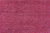 Red cooton fabric texture — Stock Photo