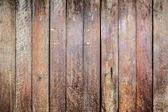 Pruhovaný vzor hnědý prkno dřeva wal — Stock fotografie