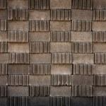Gray brick block pattern — Stock Photo #6377888