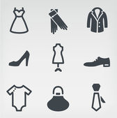 Fashion icon set — Vecteur