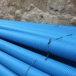 Stock Photo: Plactic Pipe