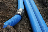 Plactic Pipe — Stock Photo