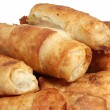 Crispy puff pastry — Stock Photo