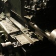 Lathe machine — Foto Stock