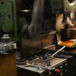Lathe machine — Foto de Stock