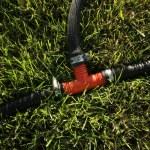 Drip irrigation — Stock Photo