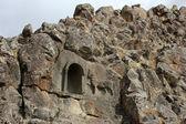 Rock tombs, Beyşehir — Stock Photo