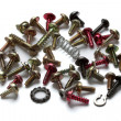 Various screws — Stock Photo