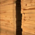 Wood door — Stock Photo