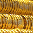 Gold bracelets — Stock Photo #32937545