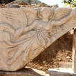 Stone Carving of the Greek Goddess Nike, Ephesus — Stock Photo #48605629
