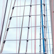 Marine rope ladder  — Stock Photo