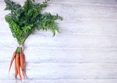 Fresh carrot — Stock Photo