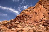 ワディ ・ ラム砂漠の山 — ストック写真