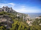 Santa Maria de Montserrat is a Benedictine abbey — Stock Photo