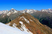 Rockies in Caucasus region in Russia — Foto Stock