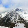 Rockies in Caucasus region in Russia — Stock Photo