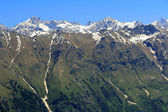 Caucasus mountains Dombai — Stock Photo