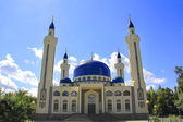 Landscape with Islam temple of the South Russia — Stock Photo