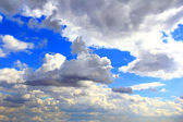 Image of summer fluffy sky — Stock Photo