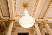 Chandelier in Russian opera and ballet theater — Stock Photo