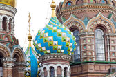 Orthodoxy church in Petersburg — Stock Photo