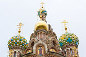 Orthodoxy temple in Petersburg — Stock Photo